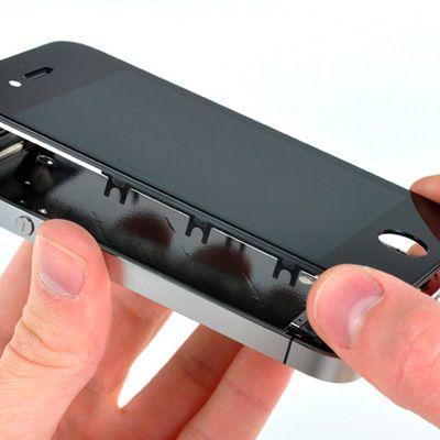 Как поменять разбитое стекло в iPhone 5 ?