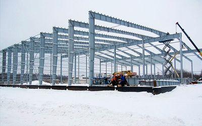 строительство складов класса а